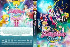 Sailor Moon Crystal: Season 1&2  (Chapter 1 - 26 End) ~ 2-DVD ~(English Version)