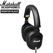 Original Marshall MONITOR Over-Ear Headphones w/ Microphone Black