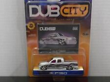 JADA DUB CITY  FORD F-150 IN SILVER 1/64 SCALE DIECAST SEE PICS