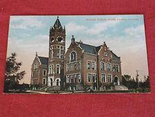 Vintage Normal School, South London, Canada Postcard NOS EXC