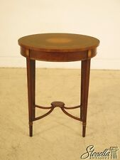 28525: High Quality Federal Inlaid Occasional Table