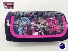 Girl Child Popular School Monster High Organiser makeup Pencil Case Purse bag
