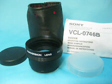 Sony Wide  X0.7 Conversion Lens VCL-0746B
