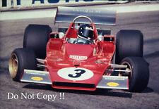 Jacky Ickx Ferrari 312 B3 Monaco Grand Prix 1973 Photograph 2