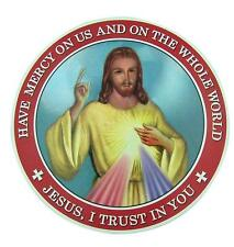 "Jesus I Trust in You Sacred Heart 6"" Auto Magnet Religious Decal Car Decoration"