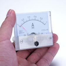 85C-1 GB/T7676-98 DC 0--1A analog Ammeter Voltmeter Current Voltage Tester Meter