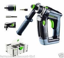 DRILL DRIVER SCREWDRIVER ANGLE FESTOOL QUADRILL DR 18/4 E FFP SET 768935