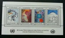 United Nation 40th Anniversary 1986 Painting Drawing Art Horse (miniature) MNH