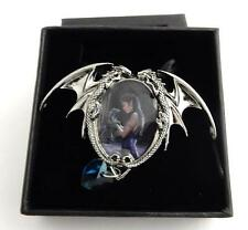 Anne Stokes Enchanted Cameos necklace Water Dragon art work Officially Licensed