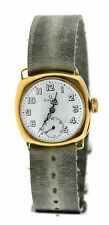 Omega Antique 1920's Cushion 18K Yellow Gold Watch