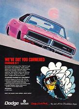 1969 Dodge Charger R/T RT - Vintage Advertisement Car Print Ad J389
