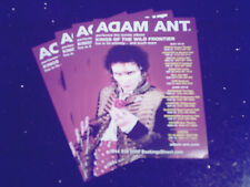 "ADAM (& THE ANTS) ANT - ""KINGS OF THE WILD FRONTIER"" TOUR 2016 (4 PROMO FLYERS)"