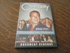 dvd celebrity brad pitt: l'acteur le plus sexy d'hollywood
