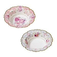 Vintage/Shabby Chic PAPER BOWLS -Tea Party-FULL TRULY SCRUMPTIOUS RANGE IN SHOP!