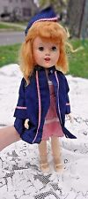 VINTAGE 1940s ARRANBEE R&B WALKING DOLL HEAD TURNS IN WAC OUTFIT
