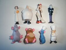 DISNEY PIXAR RATATOUILLE FIGURINES SET MOVIE - FIGURES COLLECTIBLES MINIATURES
