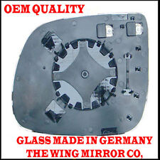 Audi Q5 2010 DRIVER SIDE Door/Wing Mirror Glass Silver Aspheric,Heated & Plat RH