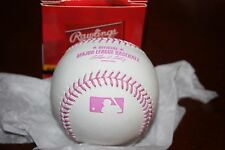 RAWLINGS OFFICIAL 2014 Pink Mothers Day PROTOTYPE MLB Baseball   Very RARE...