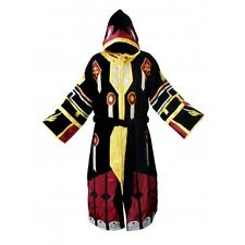 World Of Warcraft Black and Yellow Paladin Cotton Bathrobe