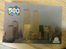 RARE MINT SEALED  2001 WORLD TRADE CENTER TOWERS JIGSAW PUZZLE WTC 911 9/11/01