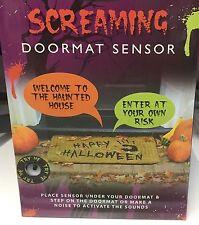Halloween Screaming Zerbino Pavimento Rumore Sensore Touch attivato sonori Spettrali