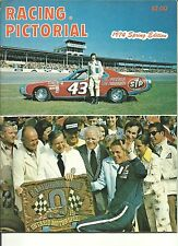 1974 Spring Racing Pictorial Richard Petty & Bobby Unser Nascar/Indy Vintage