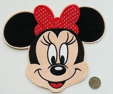 Extra Large Mini Mouse Iron On Patch - Disney Applique - READY TO SHIP!