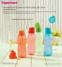 Tupperware Aquasafe Fliptop Water Bottle 310 ml (2 pc)