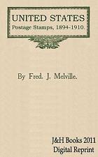 Sellos de Estados Unidos US 1894-1910 libro variedades folletos Impresión-Cd