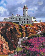 COLOR PRINT OF OIL PAINTING, IRELAND SERIES #177