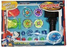 BEYBLADE METAL FUSION MASTER 4D TROTTOLE BATTAGLIA RUOTA Value Pack UK Venditore