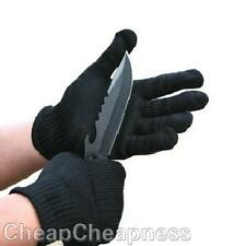 1 Pair Safety Cut-Resistant Stainless Steel Wire Metal Mesh Protective Gloves