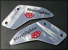Triumph SPEED TRIPLE R    2011 to 2014 Custom ENGRAVED Aluminium Heel Plates