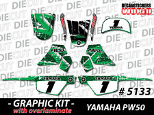*NEW* GRAPHICS DECAL STICKER KIT PEEWEE PW50 PW 50CC 1981 to 2013 ALL YEARS 5133