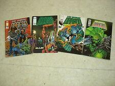 THE SAVAGE DRAGON n°1 à 4  Lot de 4 comics