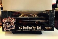 "1:18 ERTL 1960 FORD STARLINER Hot Rod by ERTL BLACK-Movie ""GREASE-rarità"