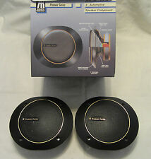 "Two 4"" Mid Range 100W Automotive Loudspeaker with Grilles-ACOUSTIC RESEARCH"