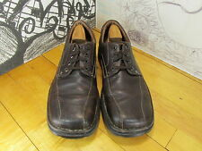 Clarks Brown Leather Casual Oxfords Men's 12M #79231