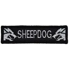 SHEEPDOG USA ARMY TACTICAL MILITARY SWAT MORALE BADGE EMBROIDERED PATCH