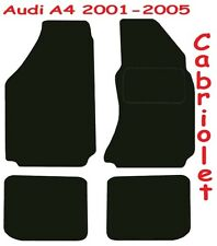 Audi A4 Cabriolet Tailored car mats ** Deluxe Quality ** 2005 2004 2003 2002 200