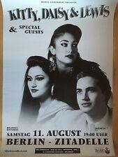 KITTY DAISY & LEWIS 2011 BERLIN- orig.Concert Poster -- Konzert Plakat  A1 NEU