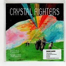 (FU962) Crystal Fighters, Follow / Swallow - 2010 DJ CD