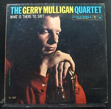 Gerry Mulligan Quartet - What Is There To Say? LP VG+ CL 1307 Mono Vinyl Record