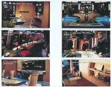 Star Trek First Contact Trading Cards New USS Enterprise E Set E1-E6