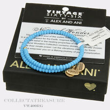 (NEW WITHOUT TAGS) Authentic Alex and Ani Canopy Sea Gold Bangle Wrap