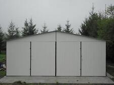 Blechgarage Garagen Schuppe Garage Fertiggarage Lager Halle 5x6x2,55 Magazin