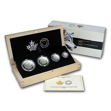 2016 Canada 4-Coin Reverse Proof Silver Maple Fractional Set - SKU #94241