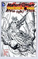 Harley Quinn Suicide Squad April Fools Special Retailer Jim Lee Variant #1 NM DC
