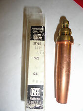 Qty. 1 National Torch Tip A-FS-49 Airco Style, Mapp / Propylene Gas