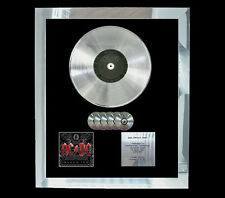 AC/DC BLACK ICE  MULTI (GOLD) CD PLATINUM DISC FREE POSTAGE!!